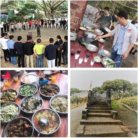 L'Équipe de la Société Fait Un Voyage à Dongguan